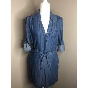 Velvet Heart Jean dress, Medium, EUC
